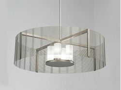Picture of Drum Chandelier   Downtown Mesh V