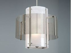 Picture of Drum Chandelier   Downtown Mesh I